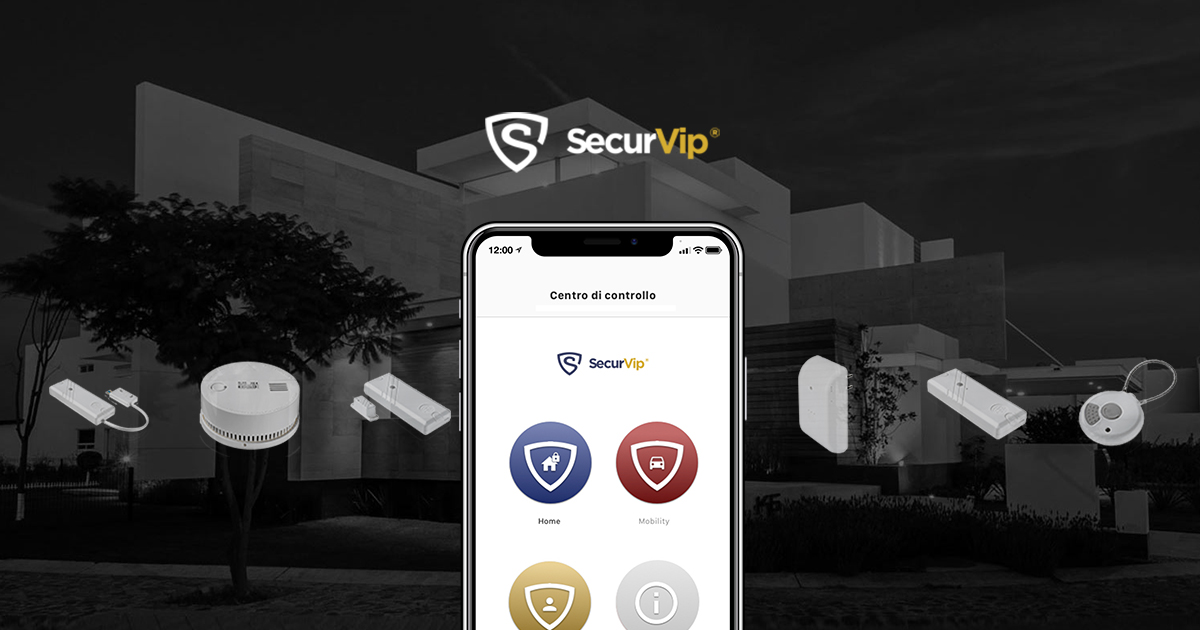 Securvip home security specifiche for Specifiche home plan